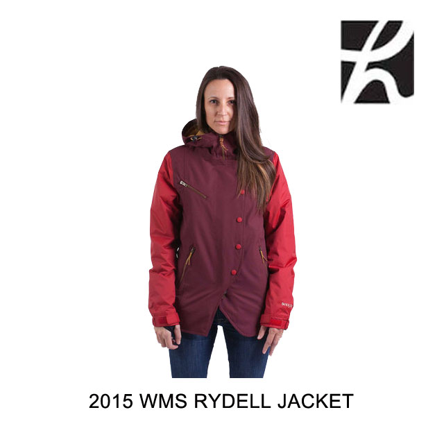 2015 HOLDEN ホールデン ジャケット WOMEN'S RYDELL JACKET PORT ROYALE CHILI PEPPER