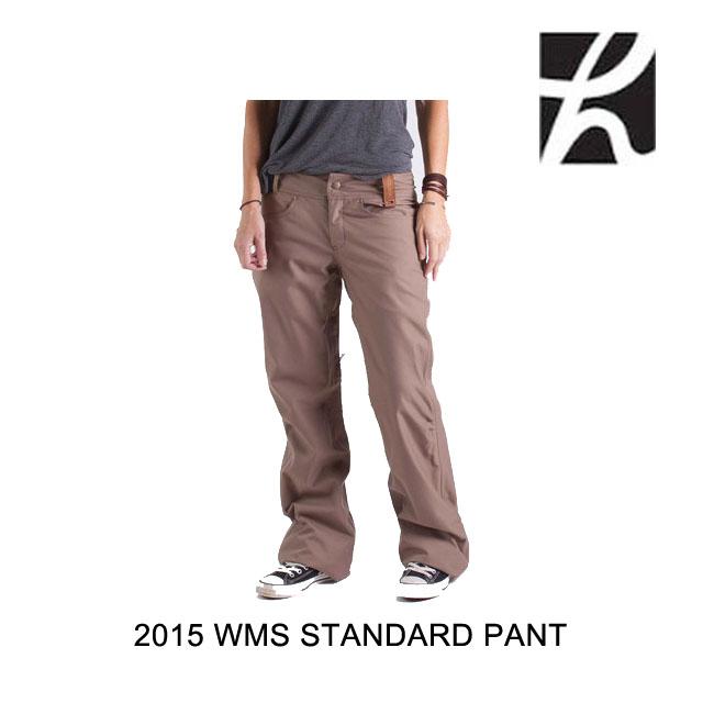2015 HOLDEN ホールデン パンツ WOMEN'S STANDARD PANT REGULAR FIT DARK KHAKI
