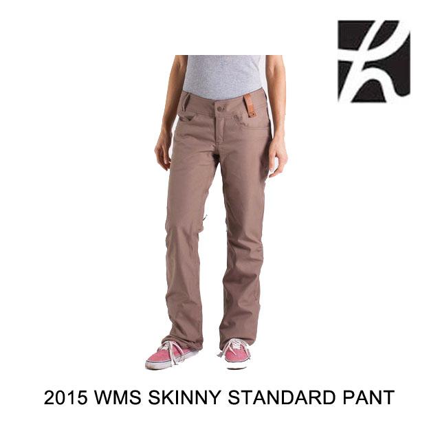 2015 HOLDEN ホールデン パンツ WOMEN'S STANDARD PANT SKINNY FIT DARK KHAKI