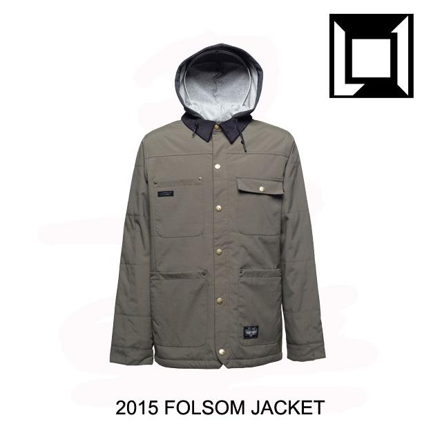 2015 L1 エルワン ジャケット FOLSOM JACKET MILITARY