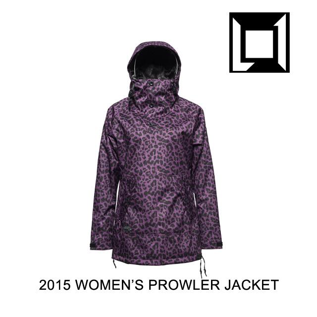2015 L1 エルワン ジャケット WOMEN'S PROWLER JACKET CHEETAH