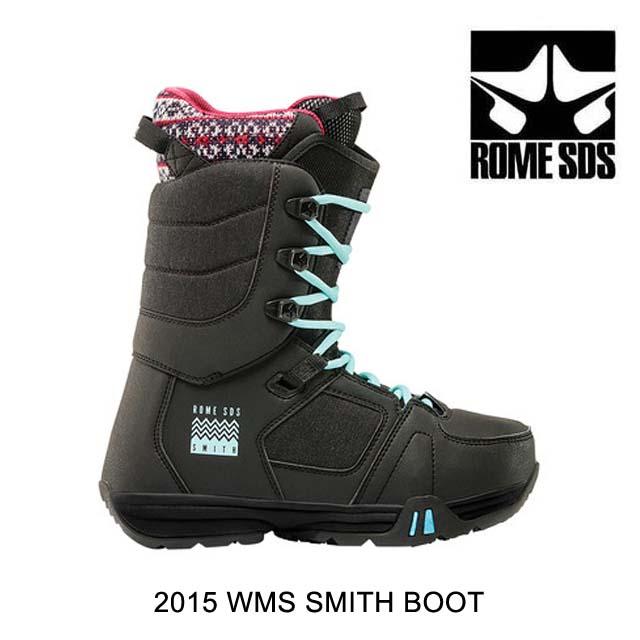 2015 ROME ローム スノーブーツ スノーブーツ WOMEN'S SNOW SNOW BOOT BOOT SMITH BLACK, 飛島村:ada26abc --- officewill.xsrv.jp