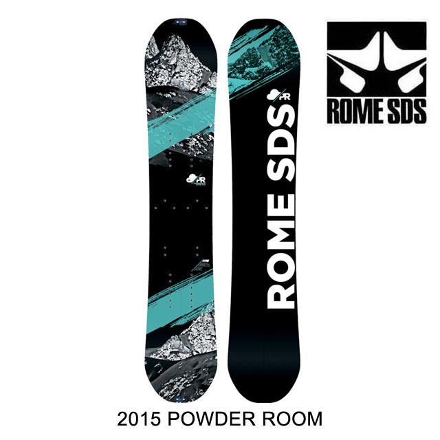2015 ROME ローム スノーボード WOMEN'S SNOWBOARD POWDER ROOM 153