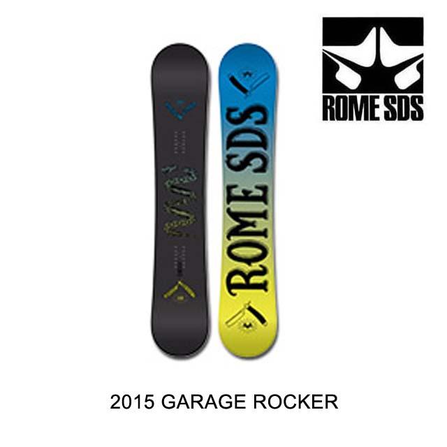 2015 ROME ローム スノーボード SNOWBOARD GARAGE ROCKER 159
