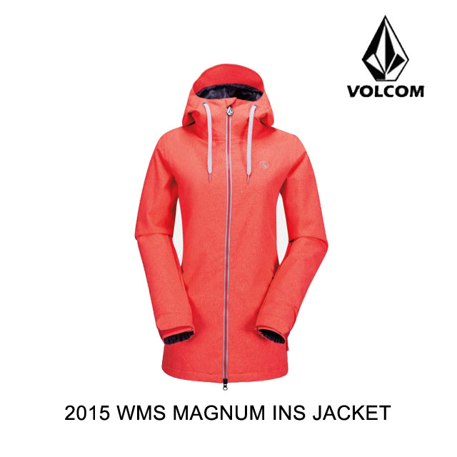 2015 VOLCOM ボルコム ジャケット WOMEN'S MAGNUM INS JACKET FCR