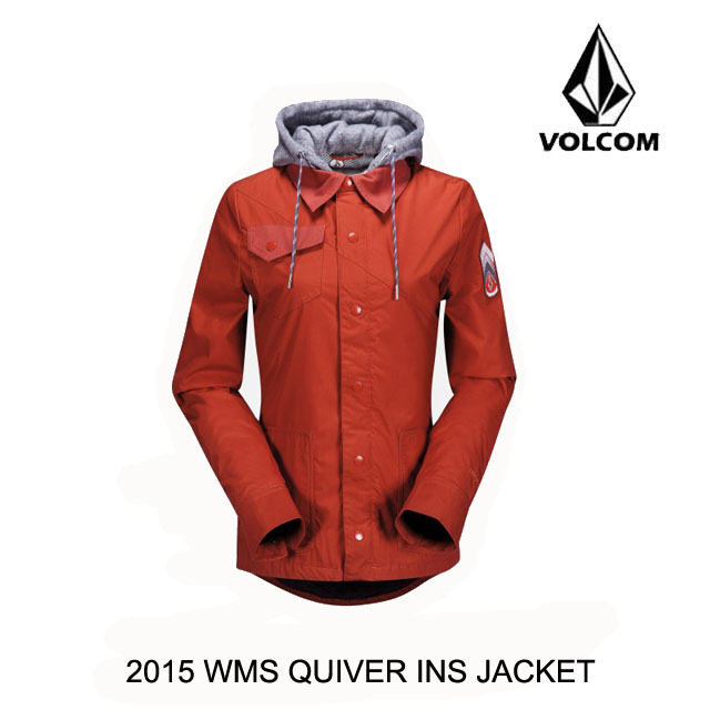 2015 VOLCOM ボルコム ジャケット WOMEN'S QUIVER INS JACKET BRT