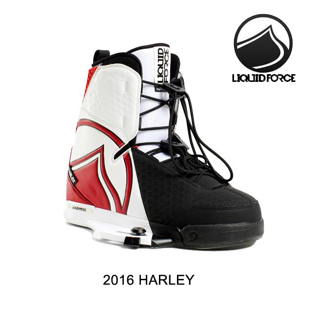 2016 LIQUID FORCE リキッドフォース バインディング BINDING HARLEY WHITE/RED/BLACK 10-11