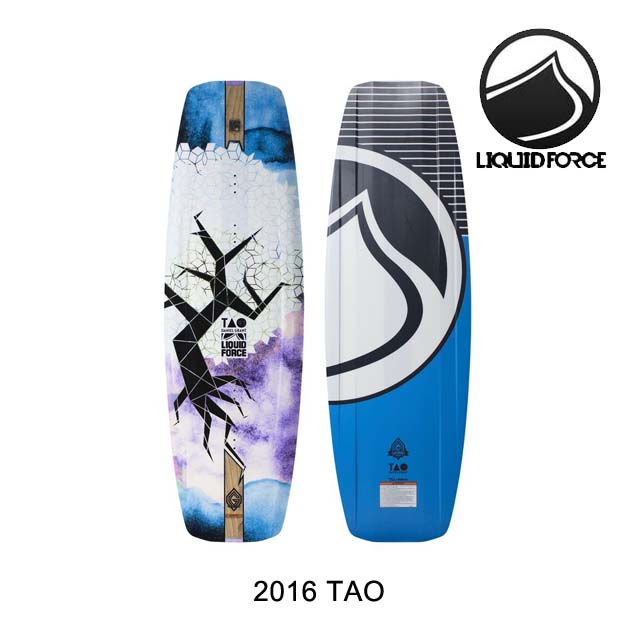 2016 LIQUID FORCE リキッドフォース ウェイクボード WAKEBOARD TAO 137