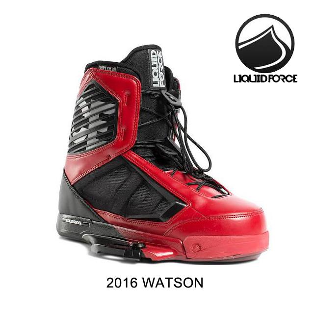 2016 LIQUID FORCE リキッドフォース バインディング BINDING WATSON RED/BLACK 10-11