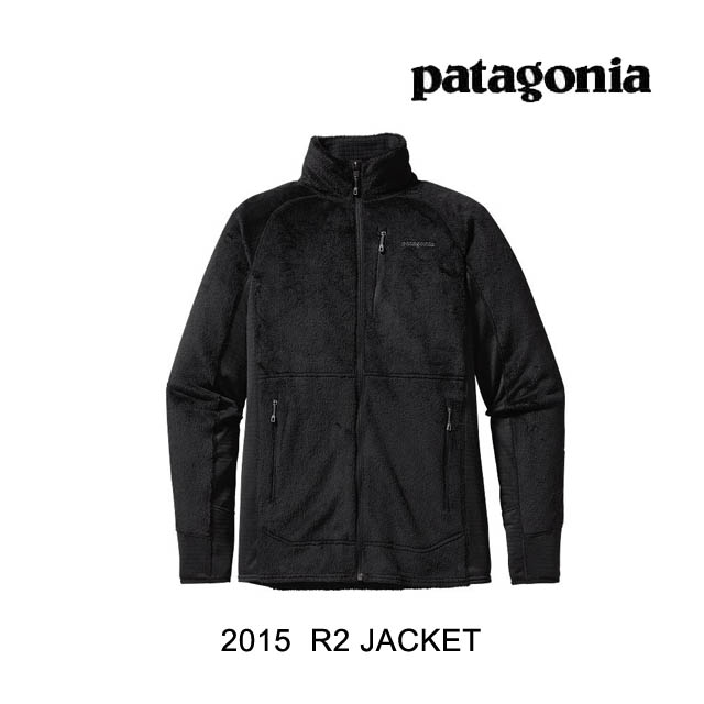 2015 PATAGONIA パタゴニア ジャケット R2 JACKET BLK BLACK
