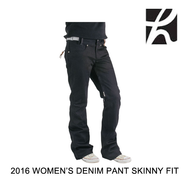 2016 HOLDEN ホールデン パンツ WOMEN'S DENIM PANT SKINNY FIT BLACK