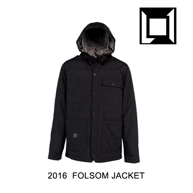 2016 L1 エルワン ジャケット FOLSOM JACKET BLACK