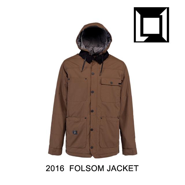 2016 L1 エルワン ジャケット FOLSOM JACKET COFFEE