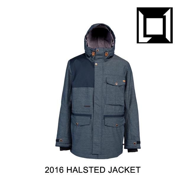 2016 L1 エルワン ジャケット HALSTED JACKET PEACOAT
