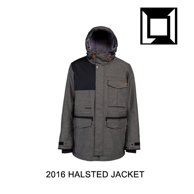 2016 L1 エルワン ジャケット HALSTED JACKET BLACK