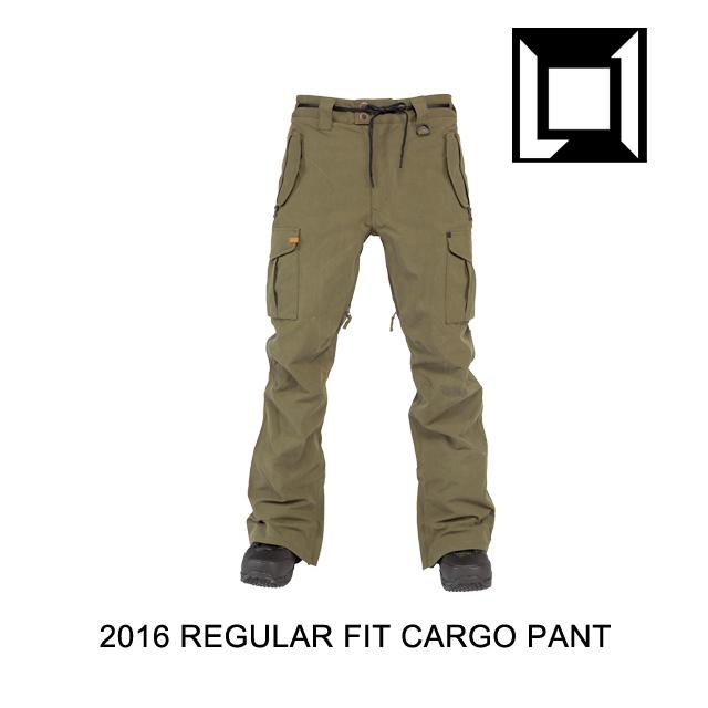 2016 L1 エルワン パンツ REGULAR FIT CARGO PANT MILITARY