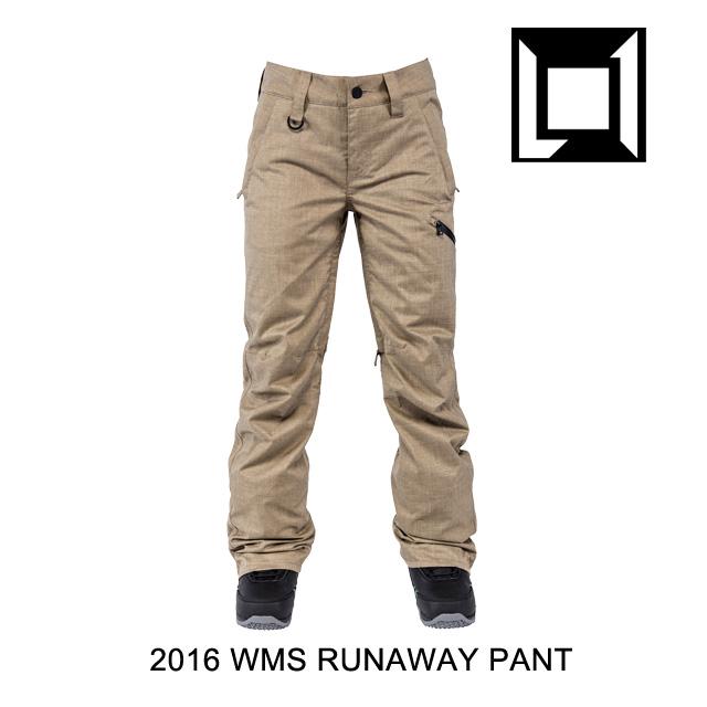 2016 L1 エルワン パンツ WOMENS RUNAWAY PANT BRUSH