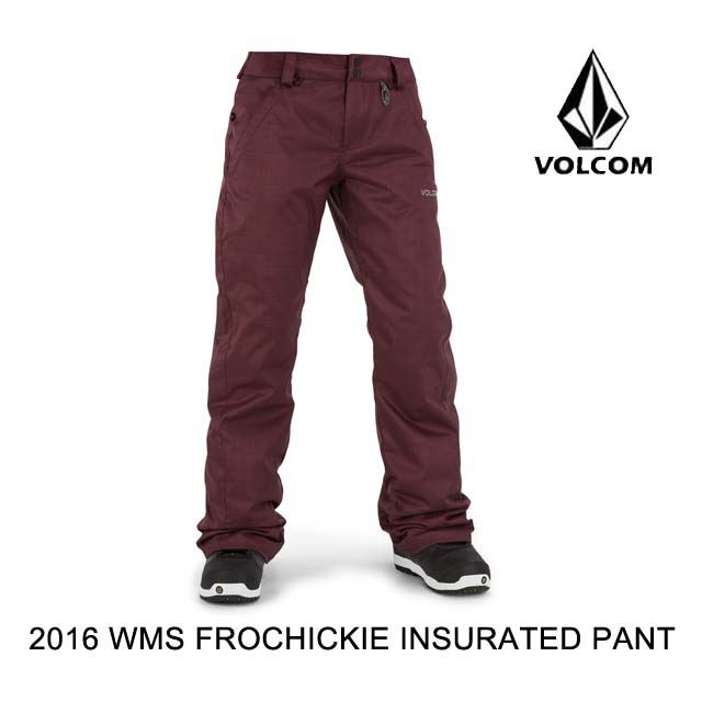 2016 VOLCOM ボルコム パンツ WOMEN'S FROCHICKIE INSULATED PANT POR