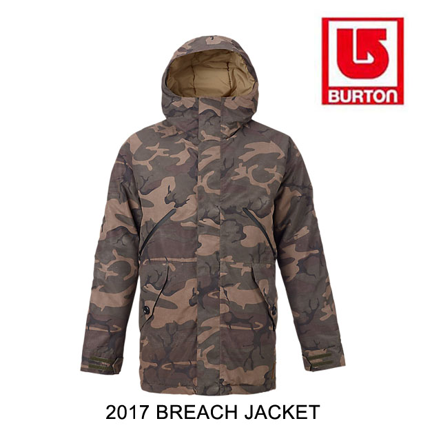 2017 BURTON バートン ジャケット MB BREACH JACKET BKAMO/KELP