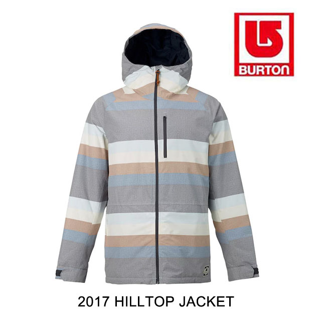 2017 BURTON バートン ジャケット HILLTOP JACKET FADED STRIPE