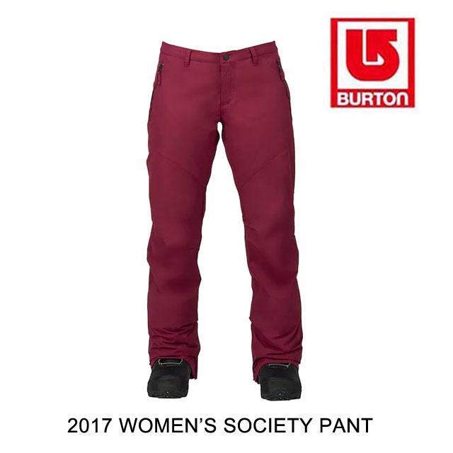 2017 BURTON バートン パンツ WOMEN'S SOCIETY PANT SANGRIA