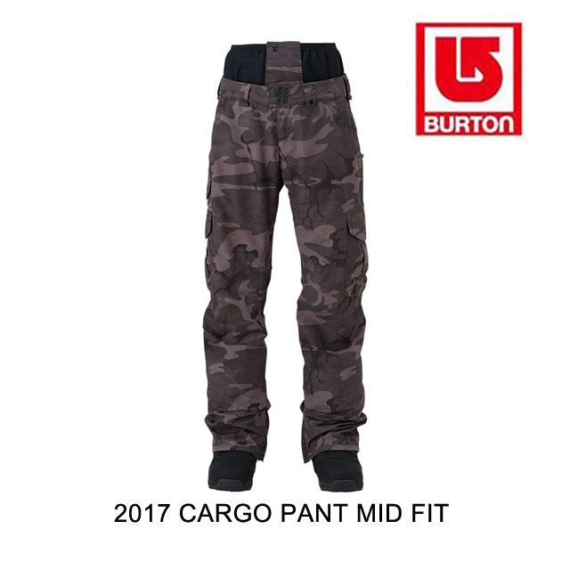 2017 BURTON バートン パンツ CARGO PANT MID FIT BKAMO