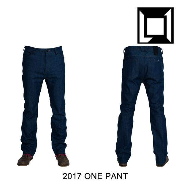 2017 L1 エルワン パンツ ONE PANT RAW BLUE DENIM