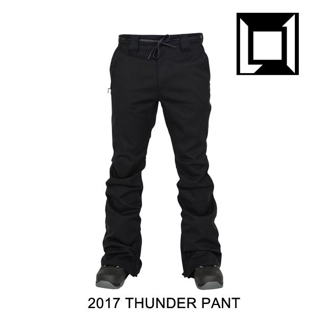 2017 L1 エルワン パンツ THUNDER PANT BLACK