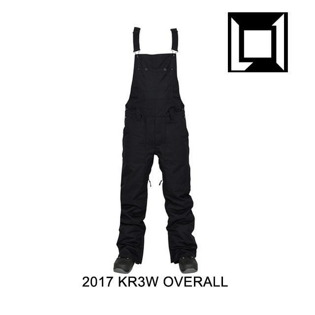 2017 L1 エルワン オーバーオール KR3W OVERALL KREW BLACK
