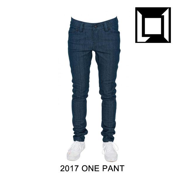 海外ブランド  2017 PANT WOMEN'S L1 エルワン パンツ パンツ WOMEN'S ONE PANT RAW BLUE DENIM, 小さい靴大きい靴レディースキッド:08cdb761 --- aqvalain.ru