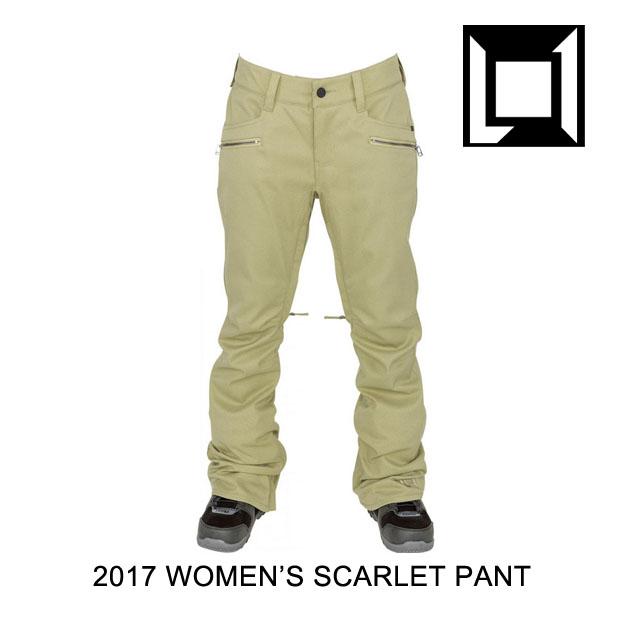 2017 L1 エルワン パンツ WOMEN'S SCARLETT PANT KHAKI TWILL