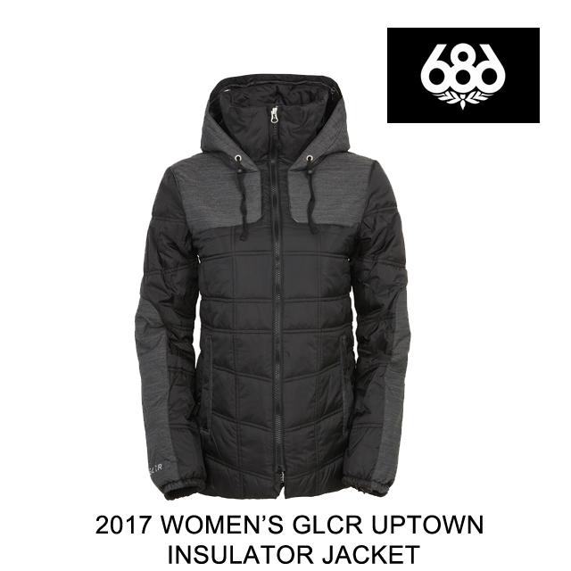 2017 686 シックスエイトシックス ジャケット WOMEN'S GLCR UPTOWN INSULATOR JACKET BLACK
