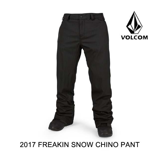 爆買い! 2017 VOLCOM ボルコム パンツ FREAKIN SNOW CHINO CHINO SNOW PANT パンツ BLK, 2019特集:ed6947ec --- canoncity.azurewebsites.net