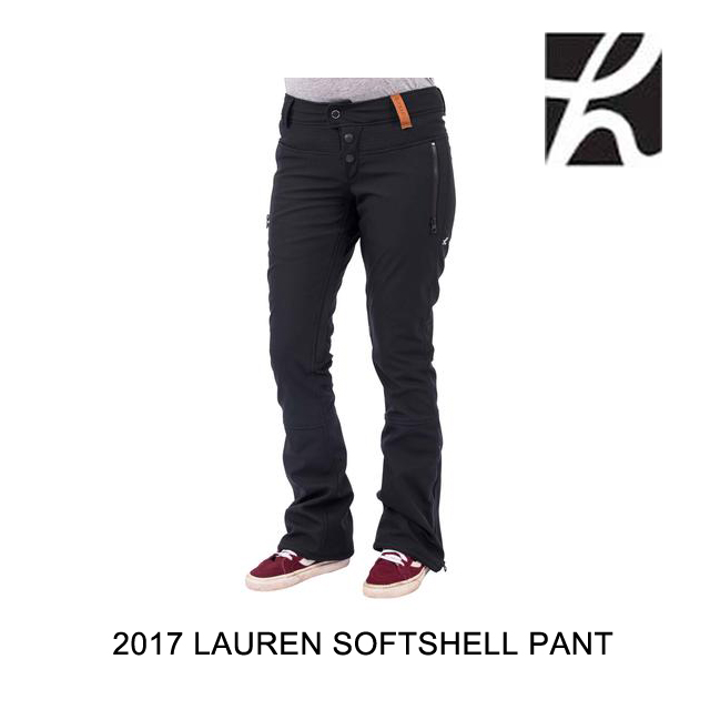 2017 HOLDEN ホールデン パンツ WOMEN'S LAUREN SOFTSHELL PANT BLACK