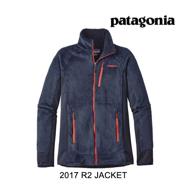 2017 PATAGONIA パタゴニア ジャケット R2 JACKET NPTR NAVY BLUE W/PAINTEDBRUSH RED