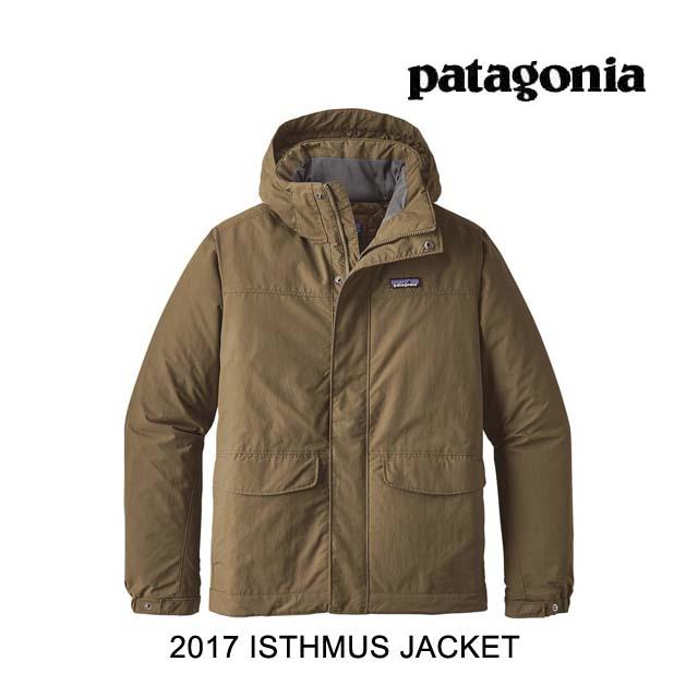 2017 PATAGONIA パタゴニア ジャケット ISTHMUS JACKET DKAS DARK ASH
