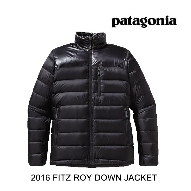2016 PATAGONIA パタゴニア ジャケット FITZ ROY DOWN JACKET BLK BLACK