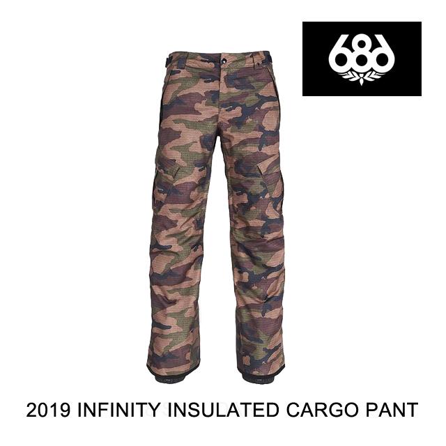 2019 686 シックスエイトシックス パンツ INFINITY INSULATED CARGO PANT DARK CAMO