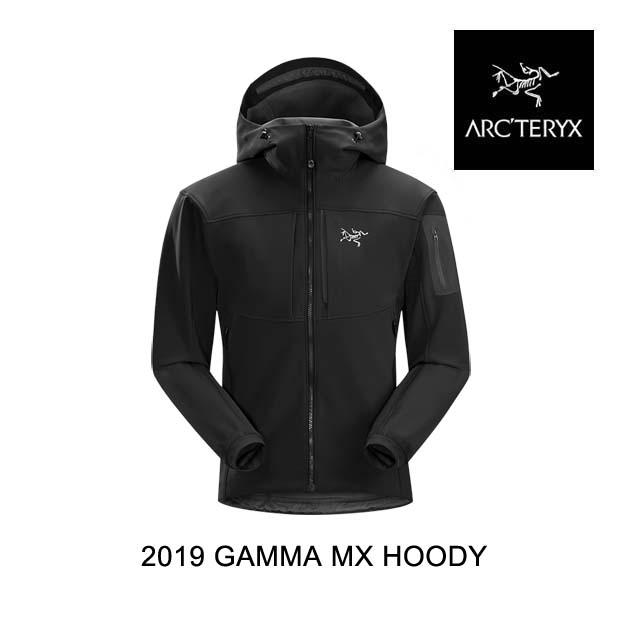 2019 ARC'TERYX アークテリクス フーディー GAMMA MX HOODY 黒BIRD