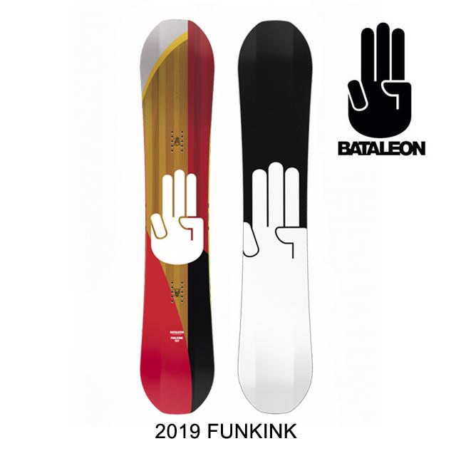 2019 BATALEON バタレオン スノーボード SNOWBOARD FUN.KINK 154