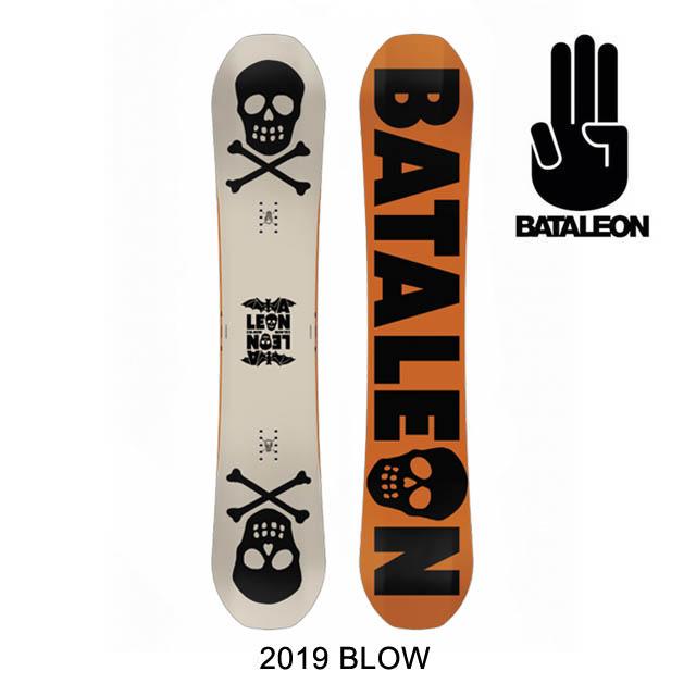 2019 BATALEON バタレオン スノーボード SNOWBOARD BLOW 148