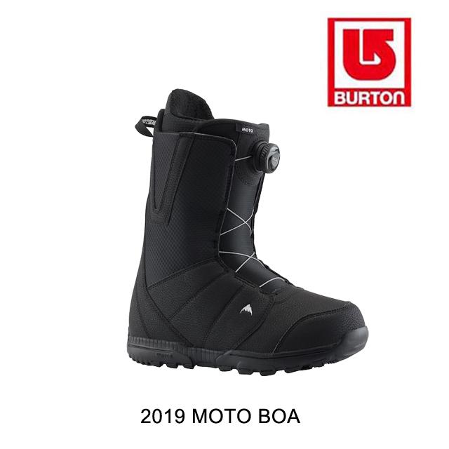 2019 BURTON バートン スノーブーツ SNOW BOOT MOTO BOA BLACK