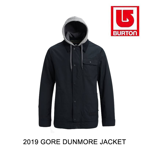 2019 BURTON バートン ジャケット GORE-TEX DUNMORE JACKET TRUE BLACK