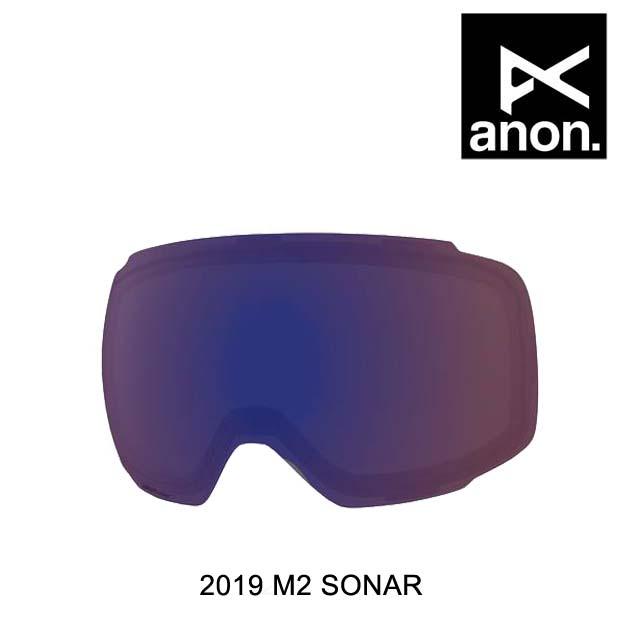 2019 BURTON バートン ANON アノン ゴーグル スペアレンズ GOGGLE M2 SONAR LENS SONAR INFRARED BLUE
