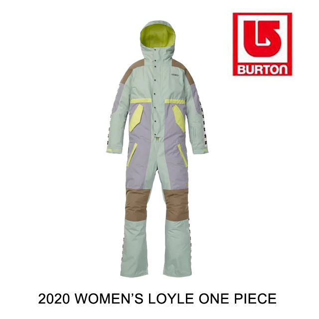 2020 BURTON バートン ワンピース WOMEN'S LOYLE ONE PIECE AQUA GRAY / LILAC GRAY / TIMBER WOLF / SUNNY LIME