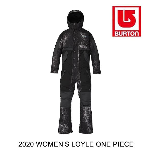 2020 BURTON バートン ロイル レディース ワンピース WOMEN'S LOYLE ONE PIECE LONEWOLF / TRUE BLACK / PHANTOM スノーボード ウエア