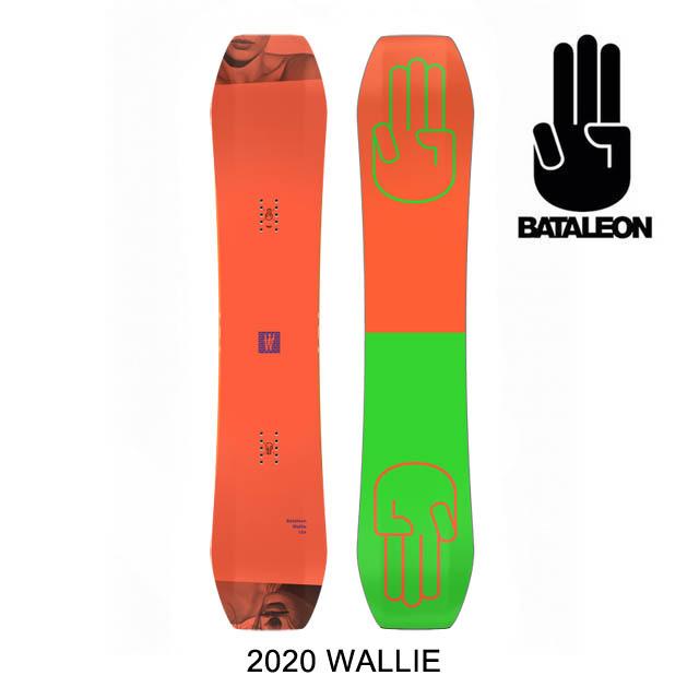2020 BATALEON バタレオン ウォーリー スノーボード SNOWBOARD WALLIE 151
