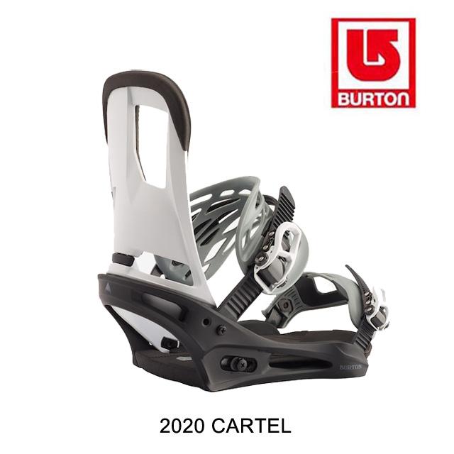 2020 BURTON バートン カーテル バインディング BINDING CARTEL 黒/白い