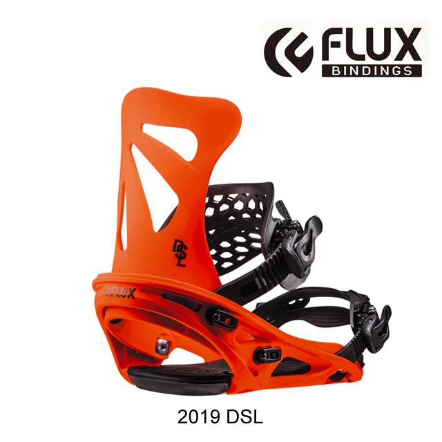 2019 FLUX フラックス バインディング BINDING DSL NEON ORANGE