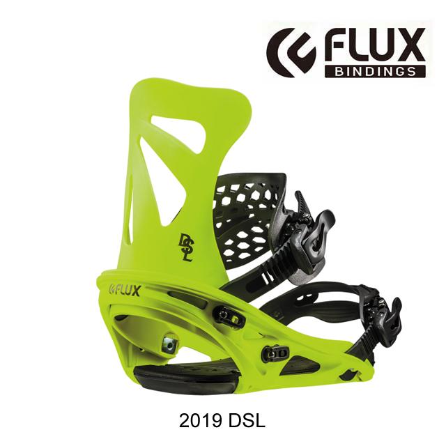 2019 FLUX フラックス バインディング BINDING DSL NEON YELLOW